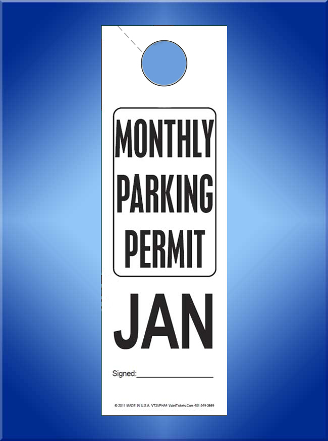 #VT3VPHA4 Monthly Parking Permit