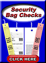 Security Bag Check Tickets