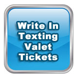 Write In Texting Valet Tickets