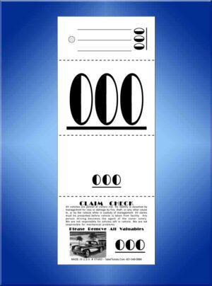 #VT4AD   4 Part Art Deco Tickets 1,000