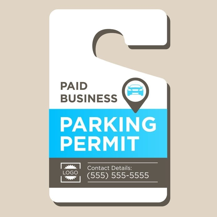 Improve Your Company Reputation One Custom Parking Tag At A Time