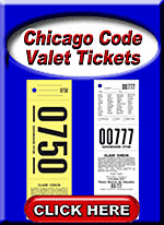 Chicago Code Valet Tickets