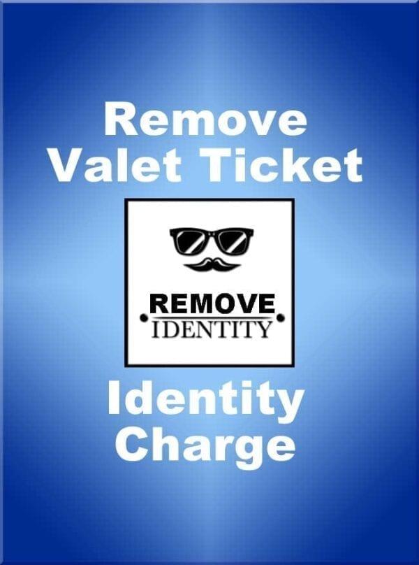 Remove ValetTickets.Com Identity from Tickets