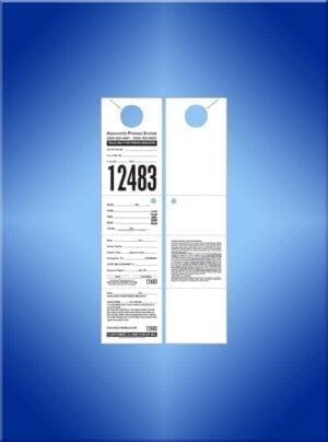 "#VT4CHANL-2 (4 Part 11"" Hanger 2 sided Associated Parking)"