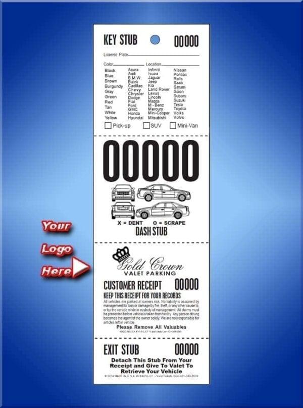 #VT4CVL-CF         4 Part Custom Vehicle List - Car Front 1,000